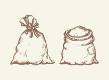 Bag. Vector drawing Stock Image