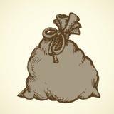 Bag. Vector drawing royalty free illustration