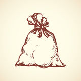 Bag. Vector drawing Royalty Free Stock Photography
