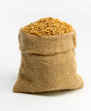 Bag With Wheat Stock Photo