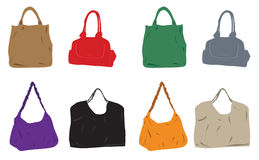 Bag women Royalty Free Stock Photo