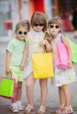bagaże tła koncepcję czworonożne zakupy białą kobietę obraz stock