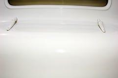 Bagażnik na rocznika samochodzie Fotografia Stock