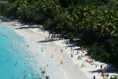Bagażnik zatoki plaża Obraz Royalty Free