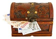 Bagażnika euro Obrazy Stock