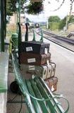 bagażowa platforma Zdjęcia Stock