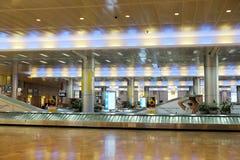 Bagażowa sala przy Ben Gurion lotniskiem Zdjęcia Royalty Free