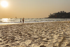 Baga plaża Zdjęcia Stock