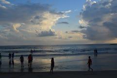 Baga plaża, Goa Zdjęcie Stock