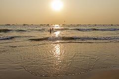 Baga strand Royaltyfri Fotografi
