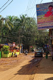 Baga ulicy scena Zdjęcie Stock