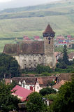 Bagaciu fortified church Royalty Free Stock Images