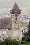 Bagaciu fortified church Royalty Free Stock Photos