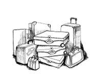 Bagage illustration stock