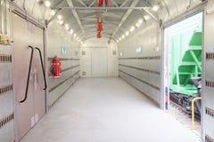 Bagagebestelwagen Royalty-vrije Stock Fotografie