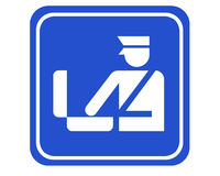 bagagekontroll Arkivbilder