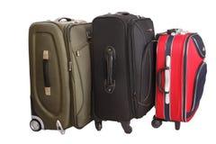 Bagagem da mala de viagem Fotografia de Stock Royalty Free