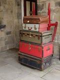 Bagagem do vintage Foto de Stock Royalty Free