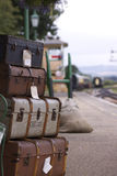 Bagagem Railway Imagem de Stock Royalty Free