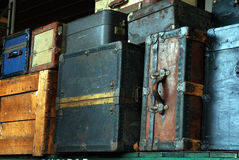Bagagem velha Foto de Stock Royalty Free