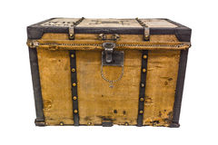 Bagagem velha do vintage Foto de Stock Royalty Free