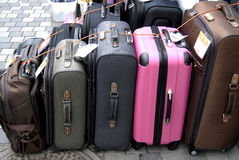 BAGAGES ON SALE Royalty Free Stock Image
