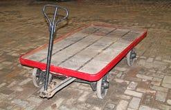 Bagagespårvagn Royaltyfri Fotografi