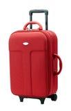 bagagli rossi Fotografie Stock