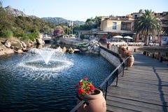 Bagaglino The Gardens  Of Porto Cervo Stock Photo
