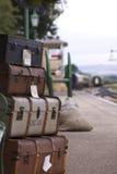 Bagaje ferroviario imagen de archivo libre de regalías