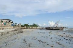 Bagamoyo harbour Stock Photography