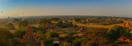 Bagan全景  免版税库存图片