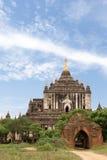 Bagan古老佛教寺庙复合体在缅甸的 图库摄影