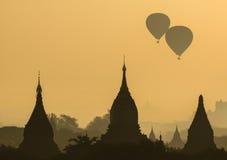Bagan塔,缅甸 库存照片