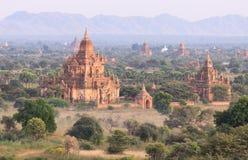 Bagan塔,缅甸 免版税库存图片
