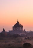 Bagan塔,缅甸 库存图片