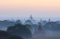 Bagan塔,缅甸 免版税图库摄影