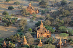 Bagan寺庙在日出2的 免版税图库摄影