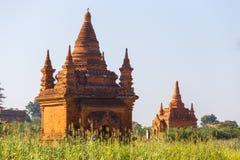 Bagan寺庙,缅甸 免版税图库摄影