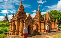 Bagan寺庙,缅甸 库存照片