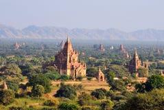 Bagan平原 免版税库存图片