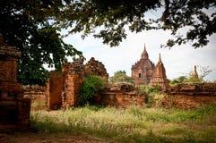 Bagan的塔缅甸的 免版税库存照片
