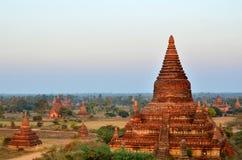 Bagan的Pagada海洋 免版税库存照片
