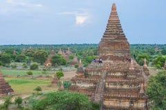 bagan缅甸寺庙  免版税图库摄影