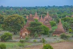 bagan缅甸寺庙  库存照片