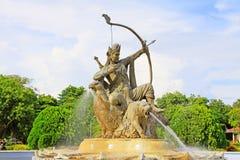 Bagan考古学博物馆阿切尔雕象,缅甸 图库摄影