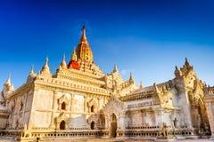 Bagan阿南达寺庙  免版税库存图片
