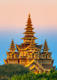 Bagan,缅甸。 免版税库存照片