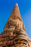 Bagan świątynia w świetle słonecznym Myanmar obraz stock