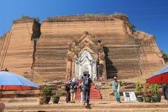 Bagan świątynia w Myanmar Zdjęcie Stock